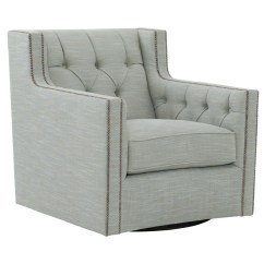 Bernhardt London Club Leather Sofa Price Small Sectional Under 1000 Candace B7272s Swivel Chair With Nail Head Trim