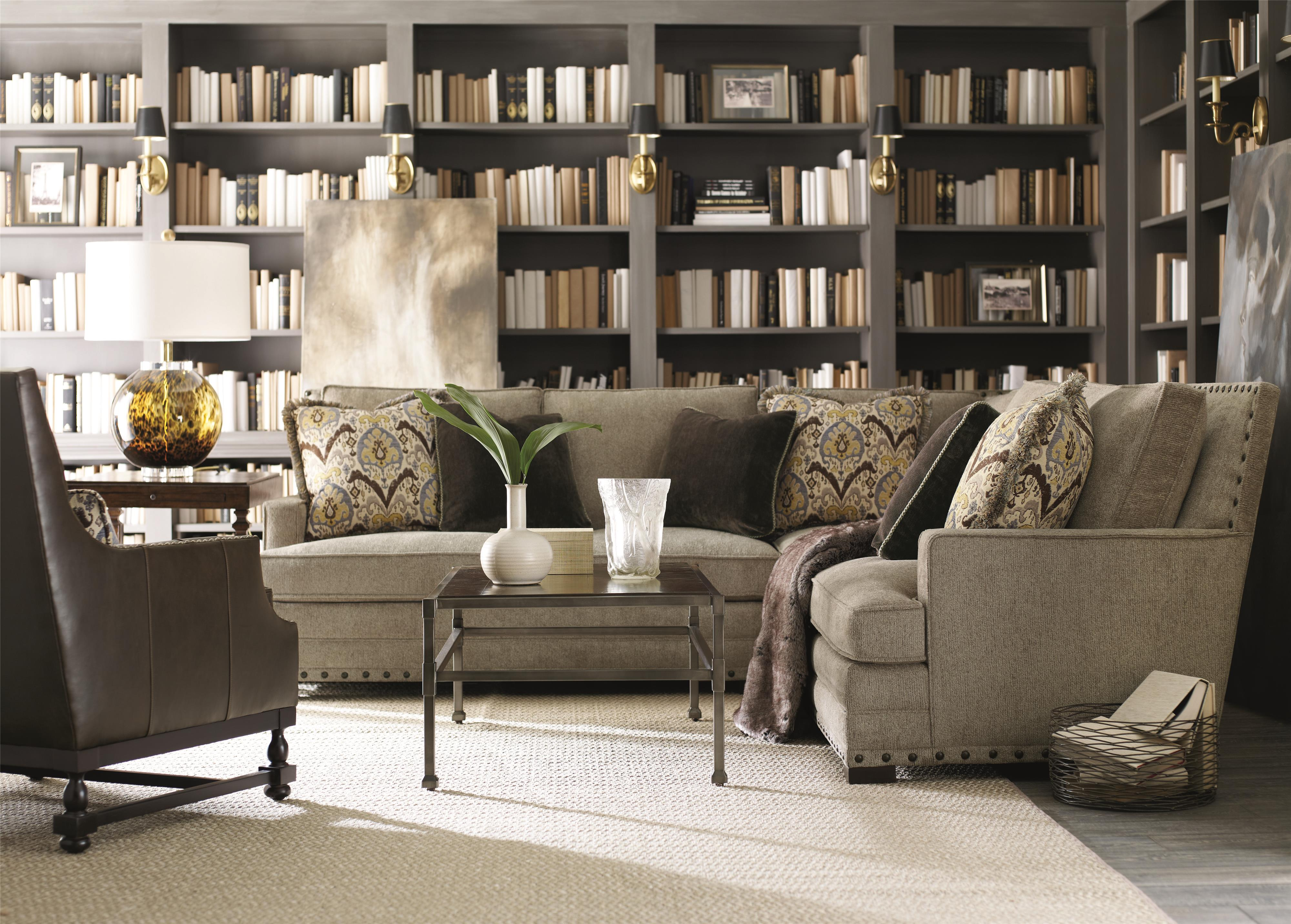 bernhardt cantor sectional sofa french country beds reeds furniture