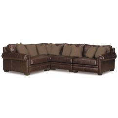 Bernhardt Furniture Sofa Foam For Grandview Four Piece Traditional Sectional