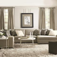Orlando Sectional Sofa Aqua Slipcover Bernhardt With Contemporary Style