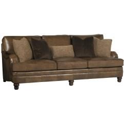 Bernhardt Sofas Sofa Back Tables Tarleton Traditional Styled Stationary