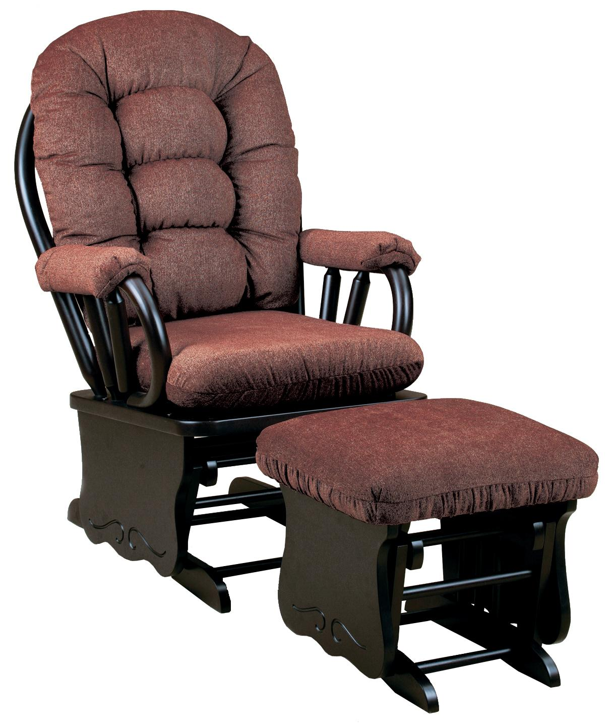 Gliding Rocking Chair Best Home Furnishings Bedazzle Locking Glider Rocker And