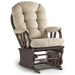 Best Chairs Glider Rent Folding Home Furnishings Bedazzle C8107 Glide Rocker Dunk