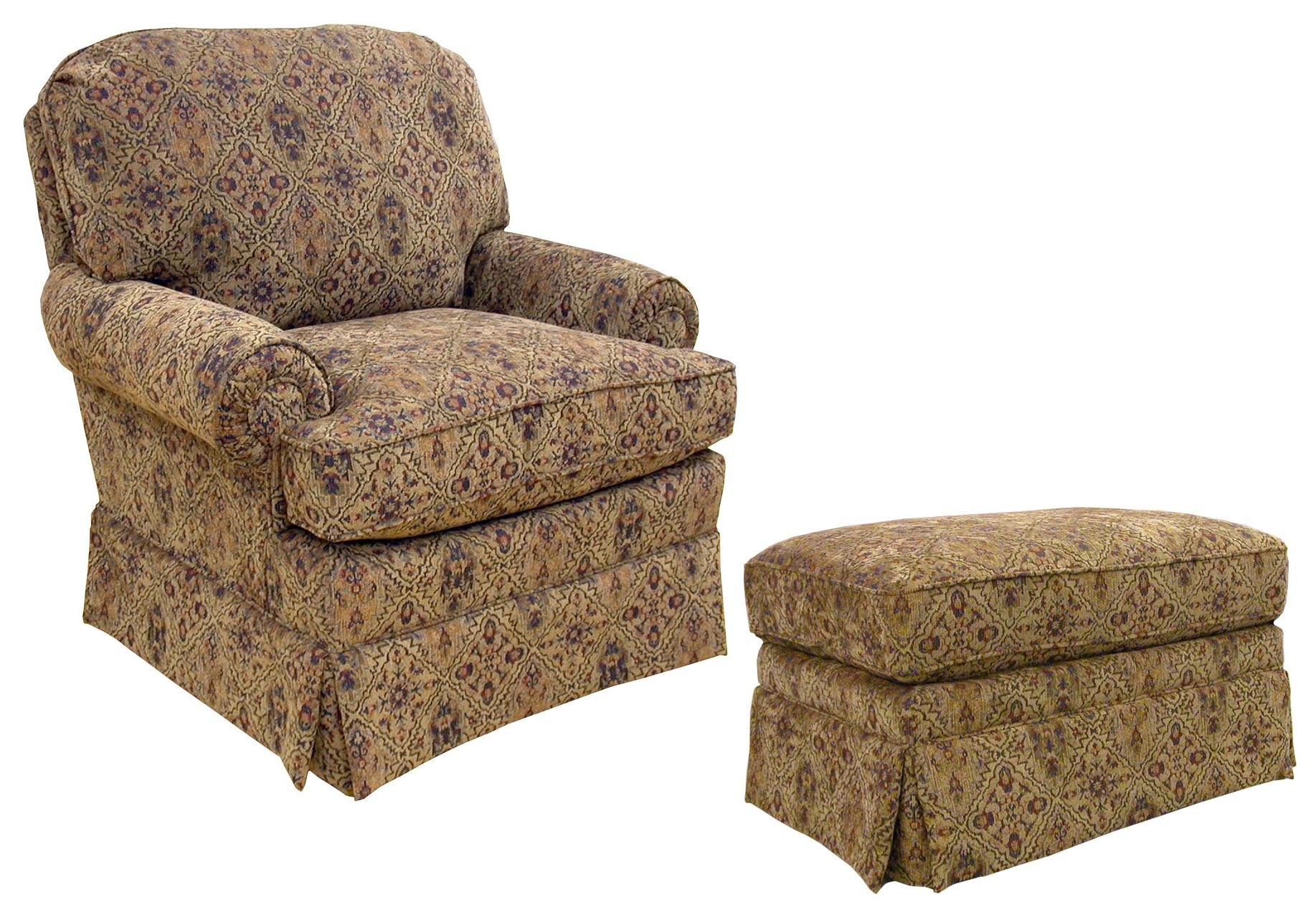 accent chairs with ottoman mission style dining room best home furnishings upholstered