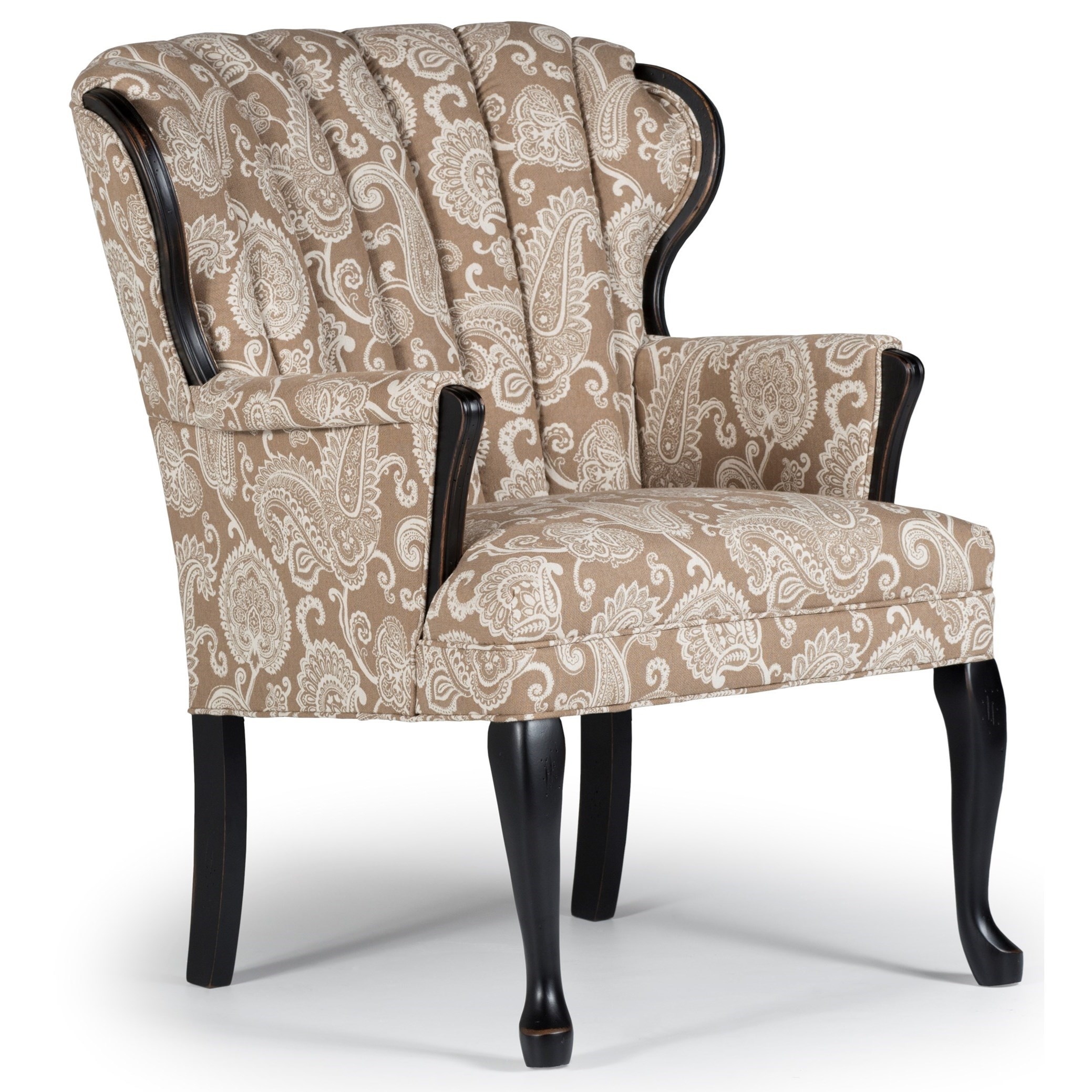 Wood Accent Chair Best Home Furnishings Accent Chairs Prudence Exposed Wood