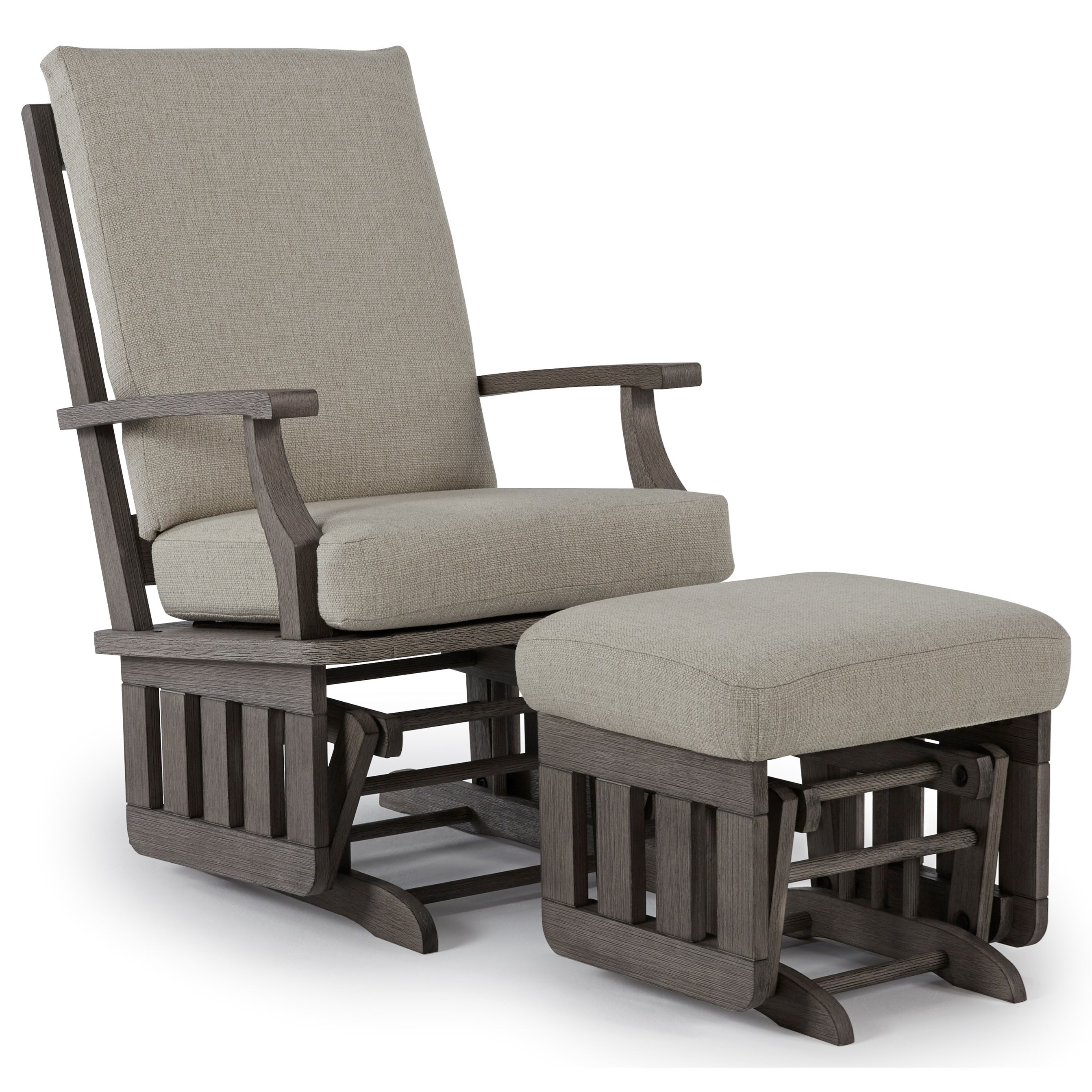 best glider chair padded deck chairs home furnishings rockers casual glide rocker