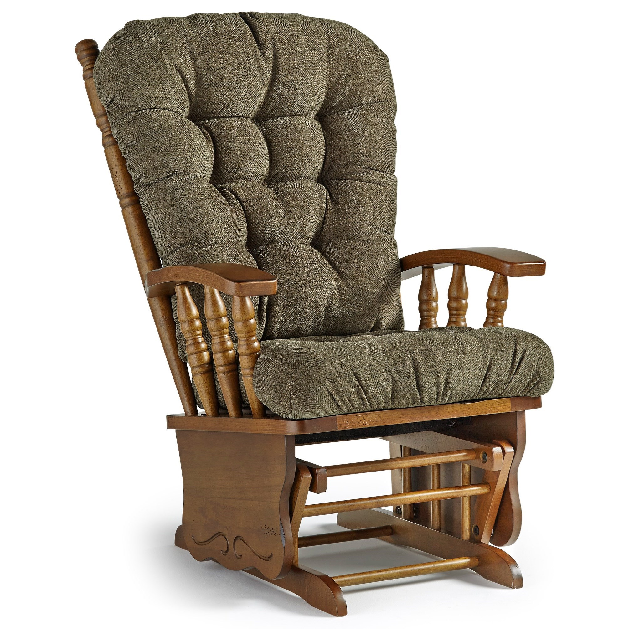 Best Home Furnishings Glider Rockers Henley Glider Rocker