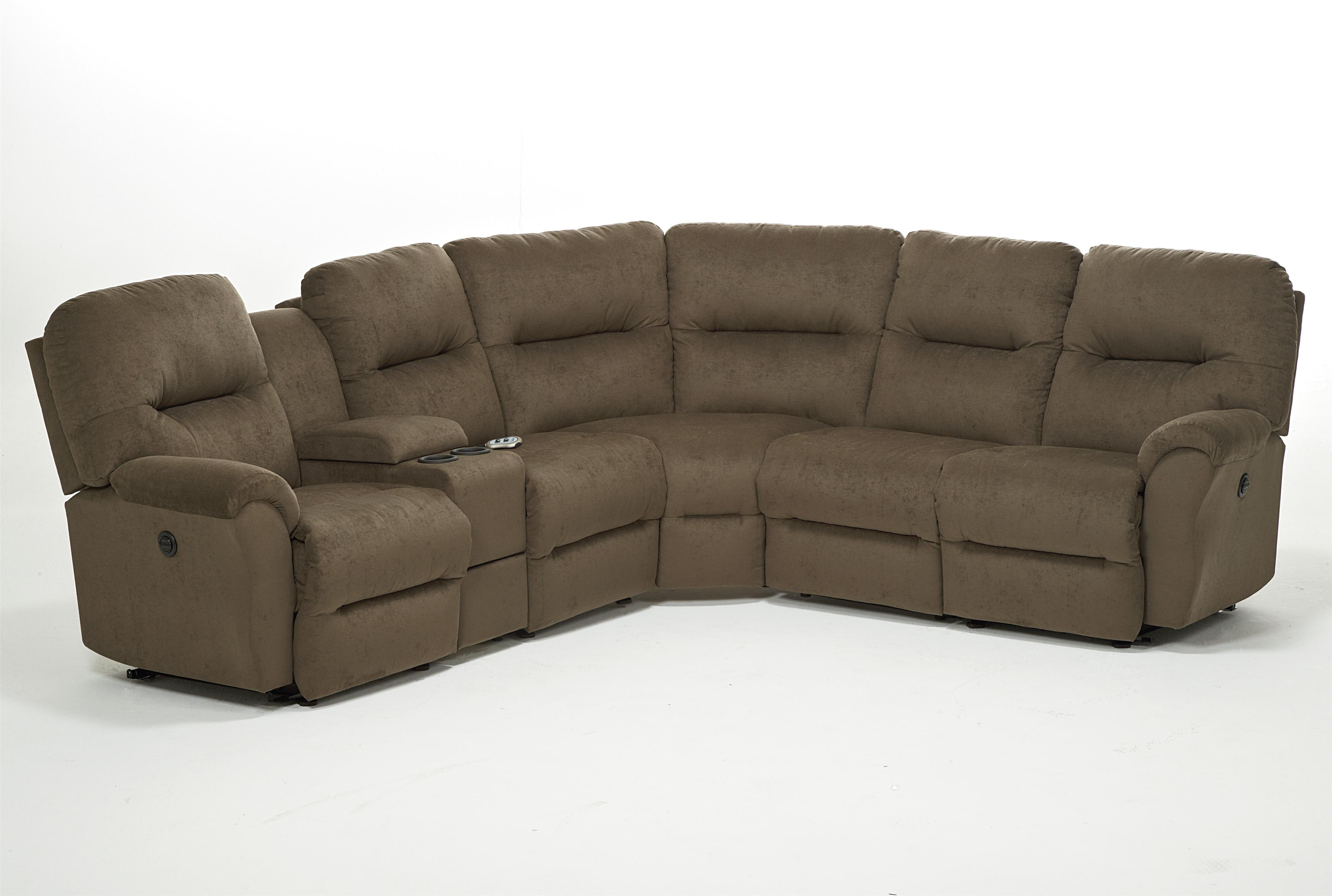 motorized sectional sofa big pillow covers best home furnishings bodie six piece power reclining