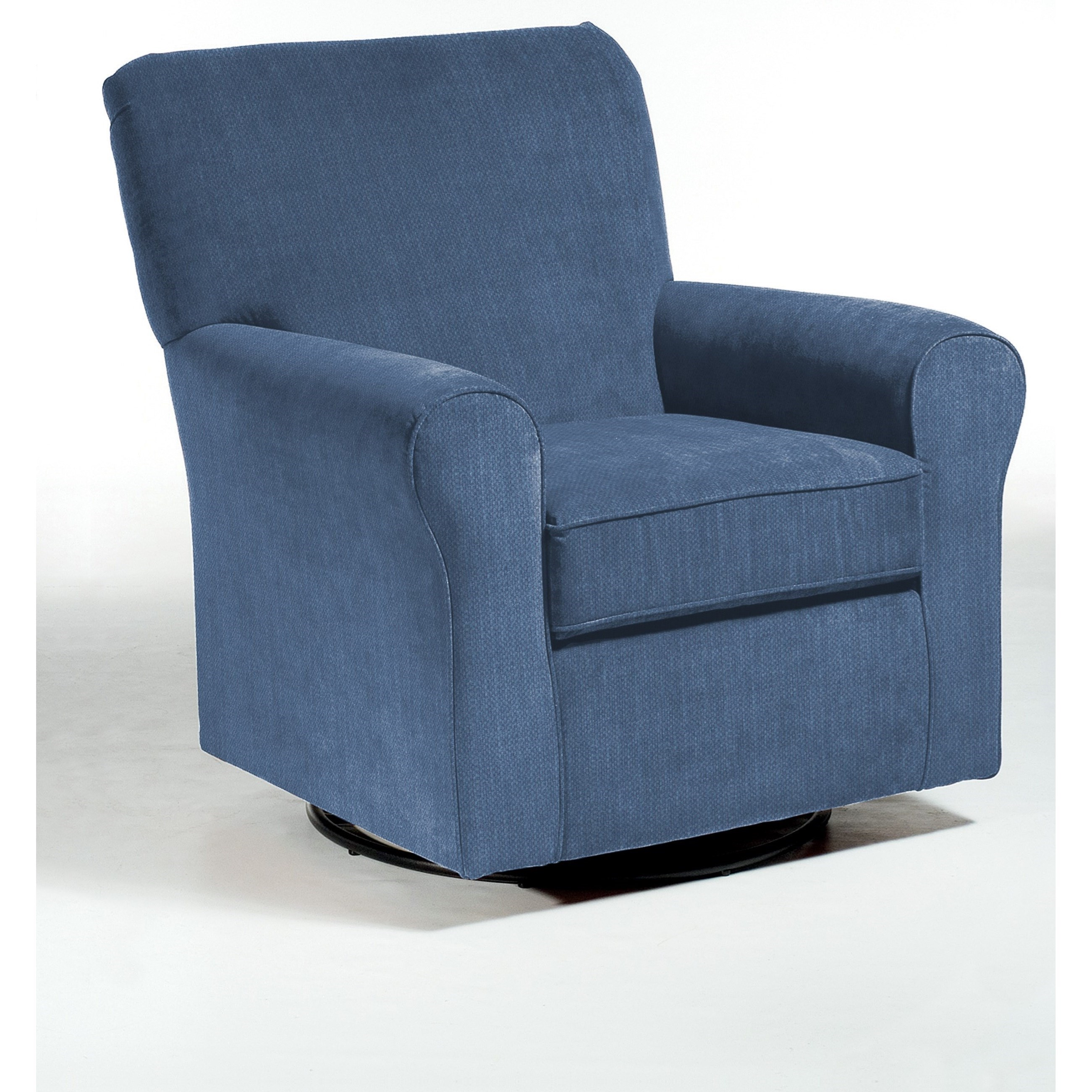 swivel upholstered chairs clear desk best home furnishings glide hagen