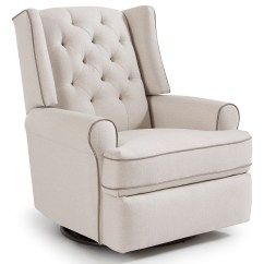Best Chairs Swivel Glider Small Desk And Chair Home Furnishings Kendra 5ni85 Traditional Tufted