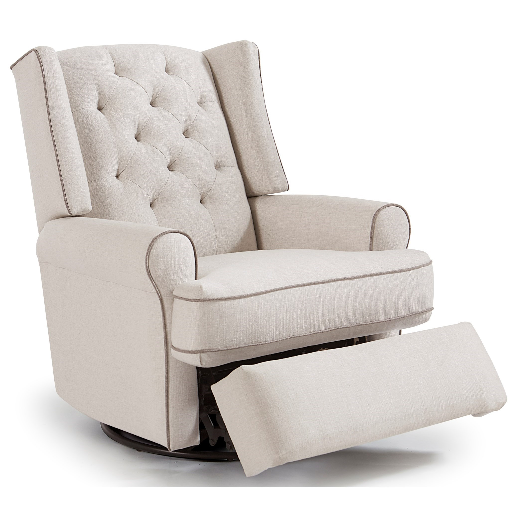 best chairs swivel glider recliner stretch dining chair covers nz home furnishings kendra 5ni85 traditional tufted