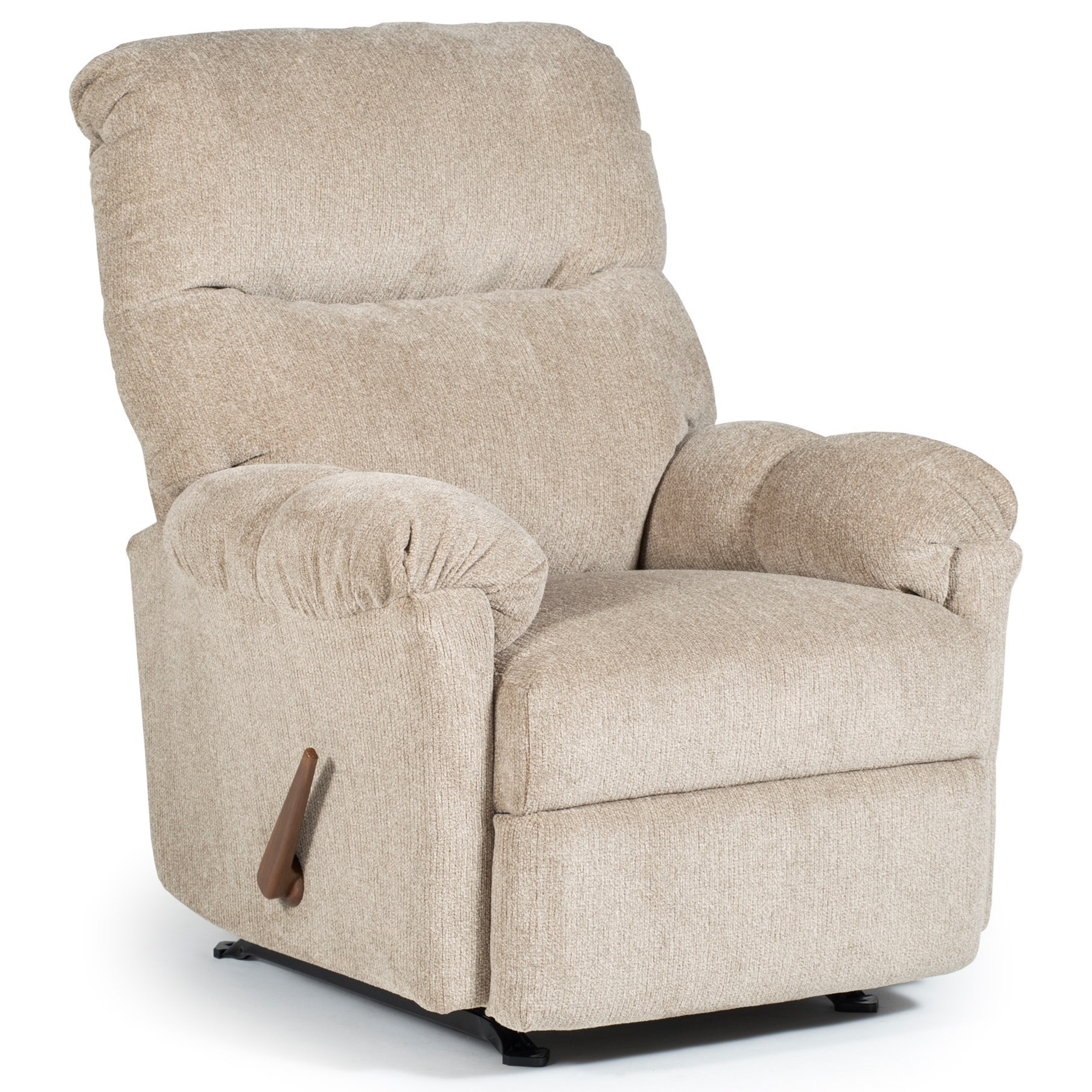 Reclining Rocking Chair Best Home Furnishings Medium Recliners 2nw67 Balmore