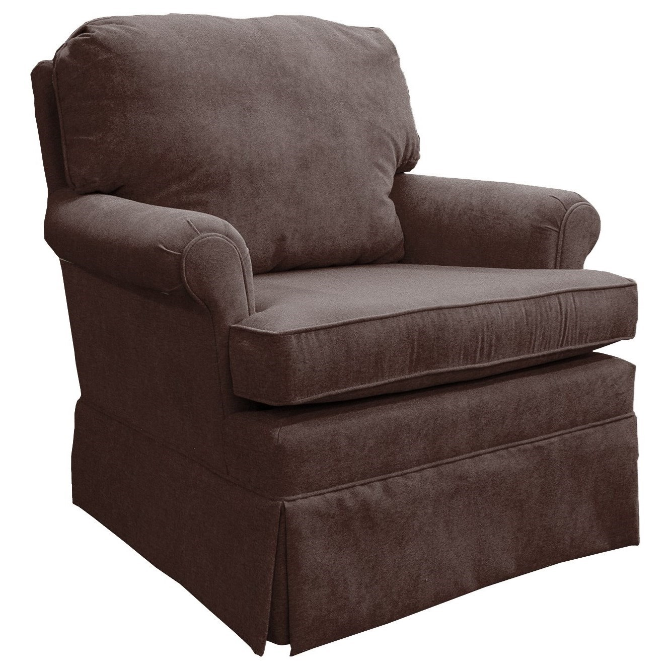 Upholstered Glider Chair Best Home Furnishings Patoka 2617 Traditional Swivel