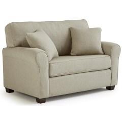 Twin Sleeper Sofa Slipcover Mustard Yellow Sectional Best Home Furnishings Shannon C14t