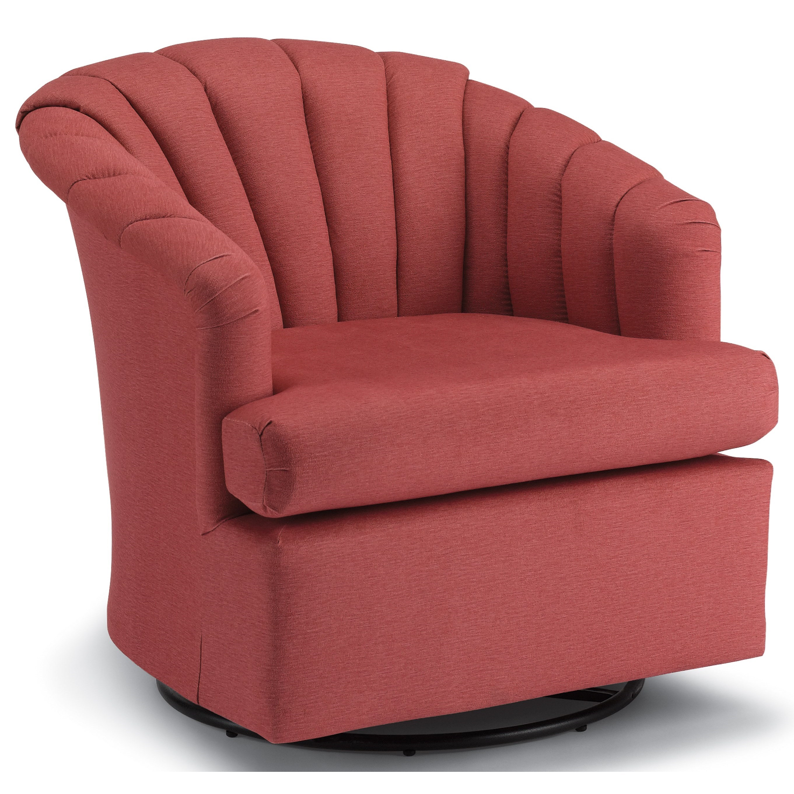 Upholstered Glider Chair Best Home Furnishings Chairs Swivel Barrel Elaine Swivel
