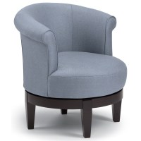 Best Home Furnishings Chairs - Swivel Barrel Chic Attica ...