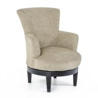 Best Home Furnishings Chairs - Swivel Barrel Justine ...