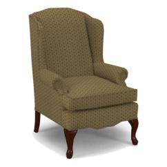 Queen Ann Chairs Sams Folding And Tables Best Home Furnishings Wing Back 0660dc 1 Esther