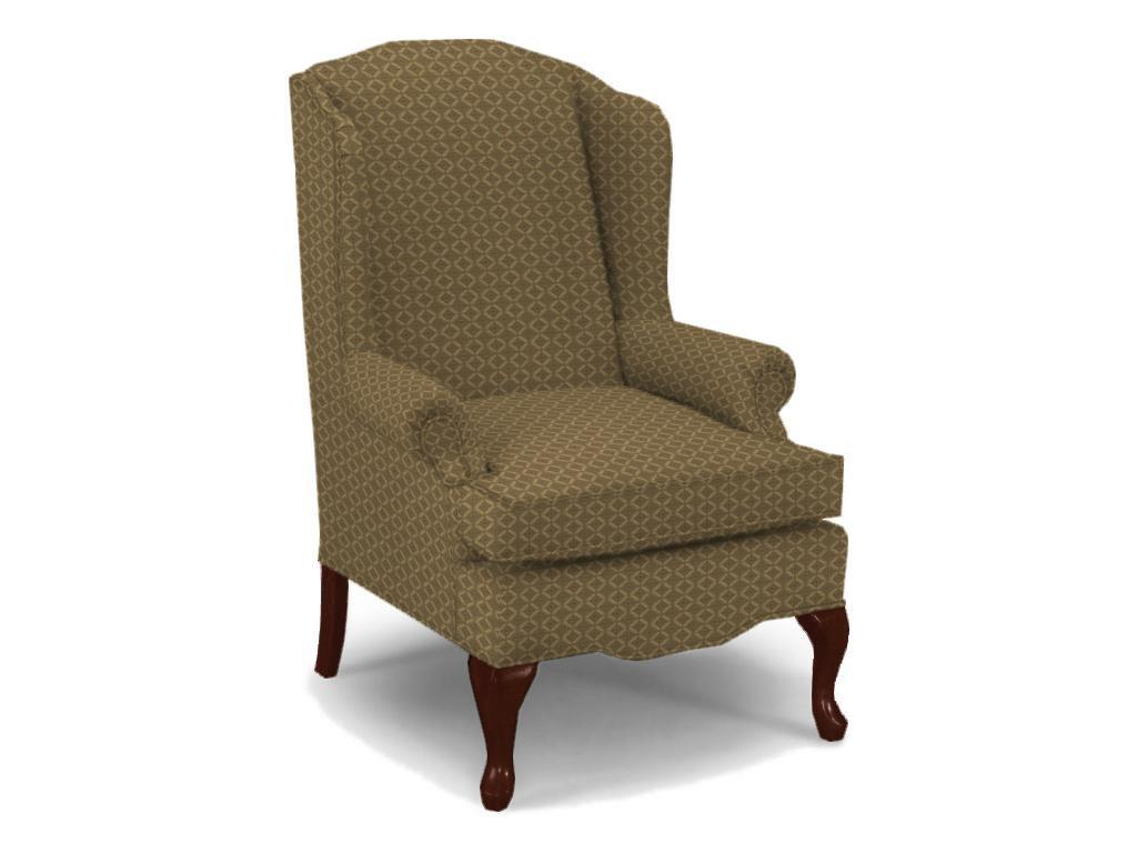 Queen Anne Wingback Chair Best Home Furnishings Chairs Wing Back 0660dc 1 Esther