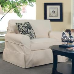Slip Cover Chair And A Half Dog Lounge Chairs Australia Braxton Culler 728 Casual Upholstered Slipcover With