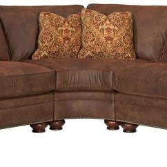 Broyhill Leather Sofa Sets Suede India Furniture Laramie 3 Piece Wedge Sectional