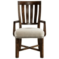 Broyhill Furniture Pieceworks Arm Chair with Upholstered ...