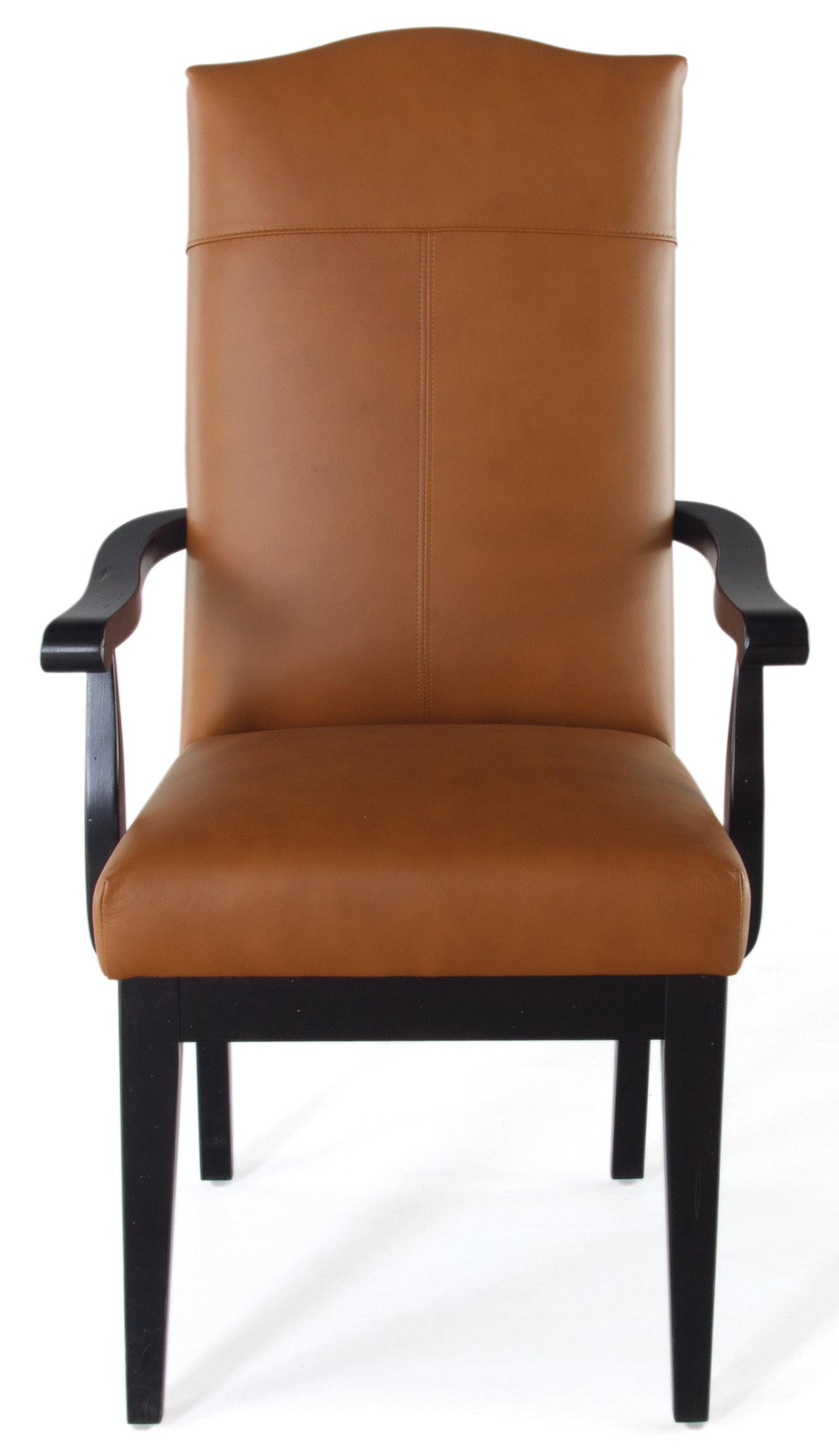 dining accent chairs stressless recliner reviews canadel loft custom customizable upholstered arm