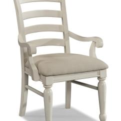 White Ladder Back Chairs Custom Gaming Carolina Preserves By Klaussner Sea Breeze