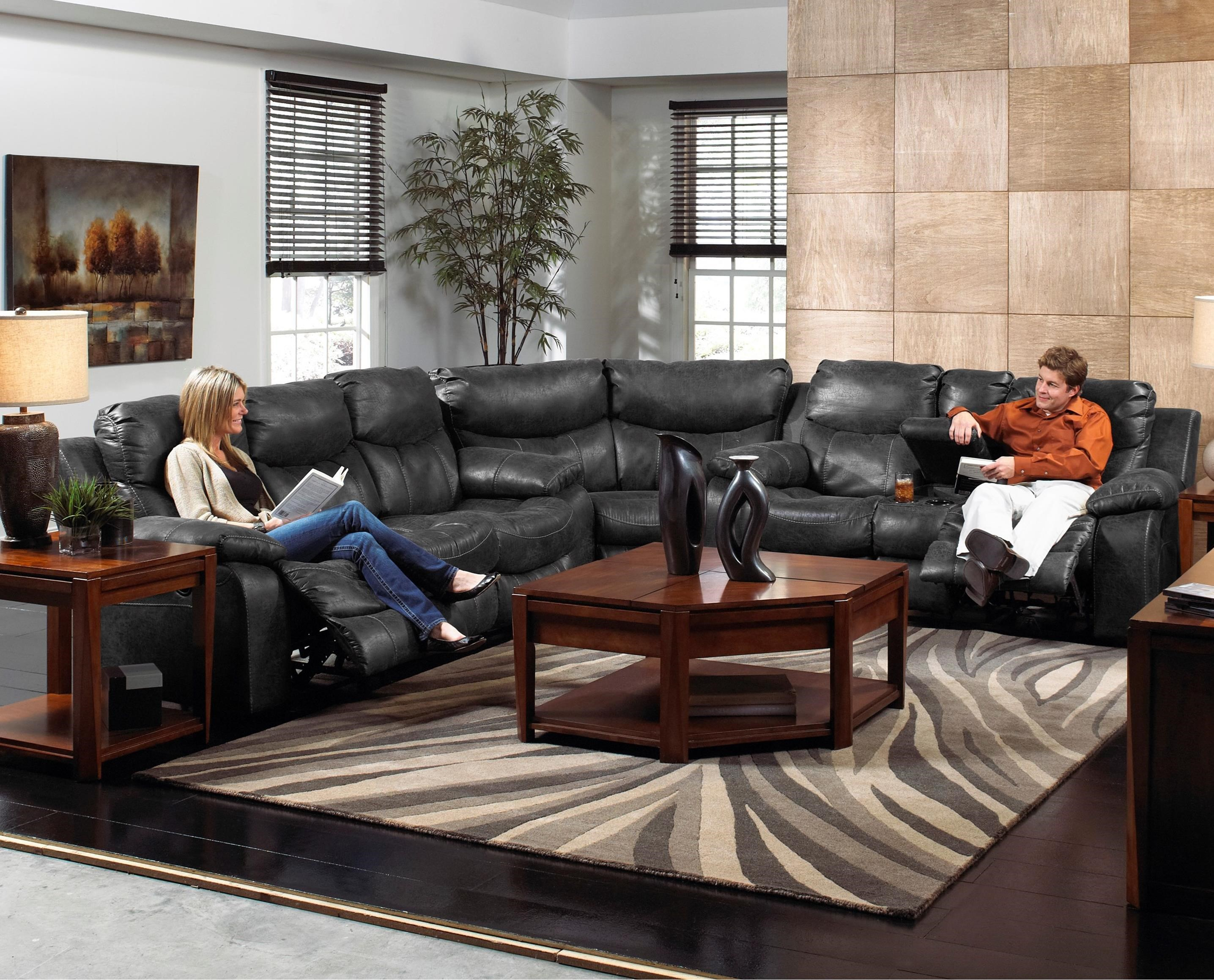 catnapper ranger reclining sectional sofa set thomasville fremont catalina casual three piece power