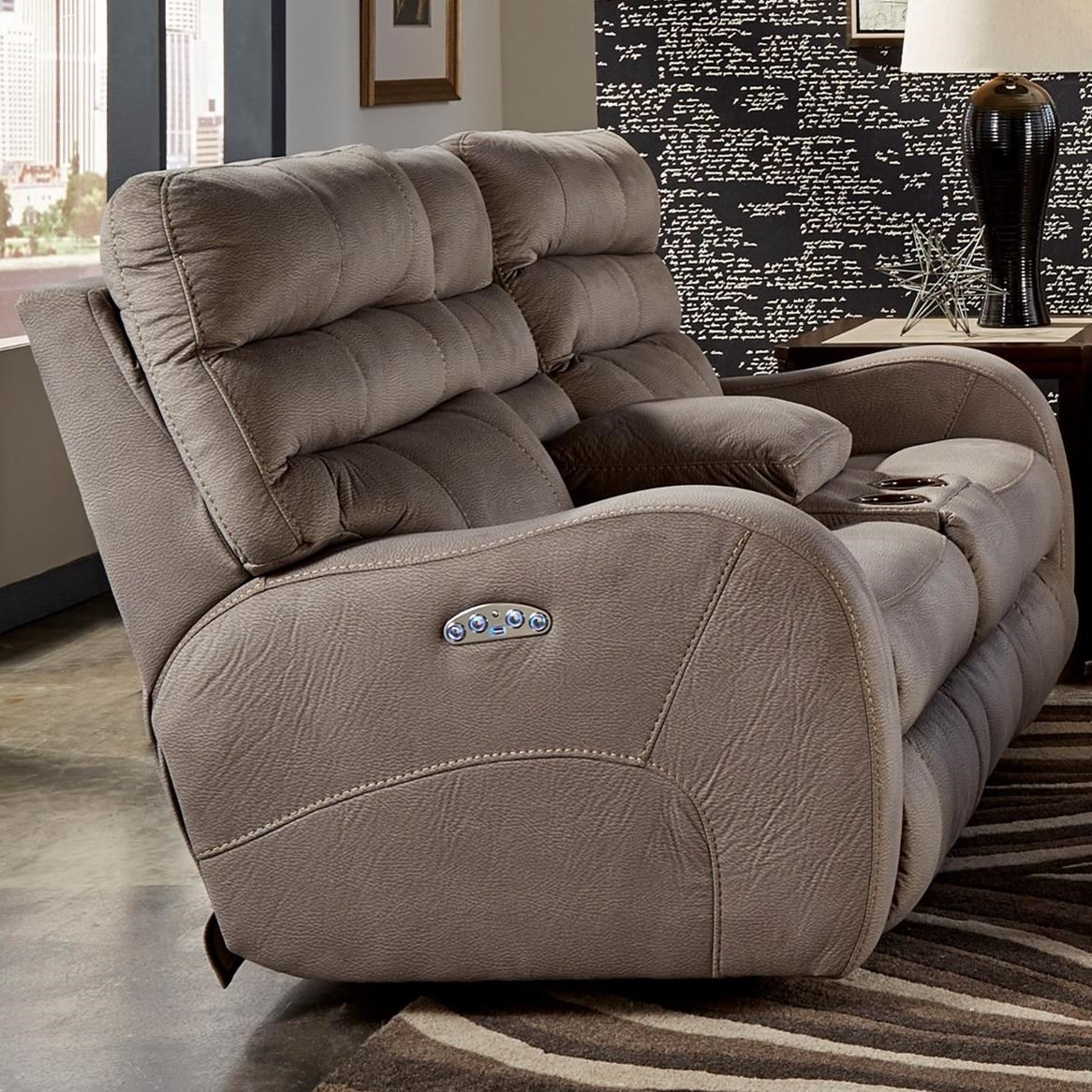 catnapper sofa polyester pilling kelsey contemporary power lay flay reclining