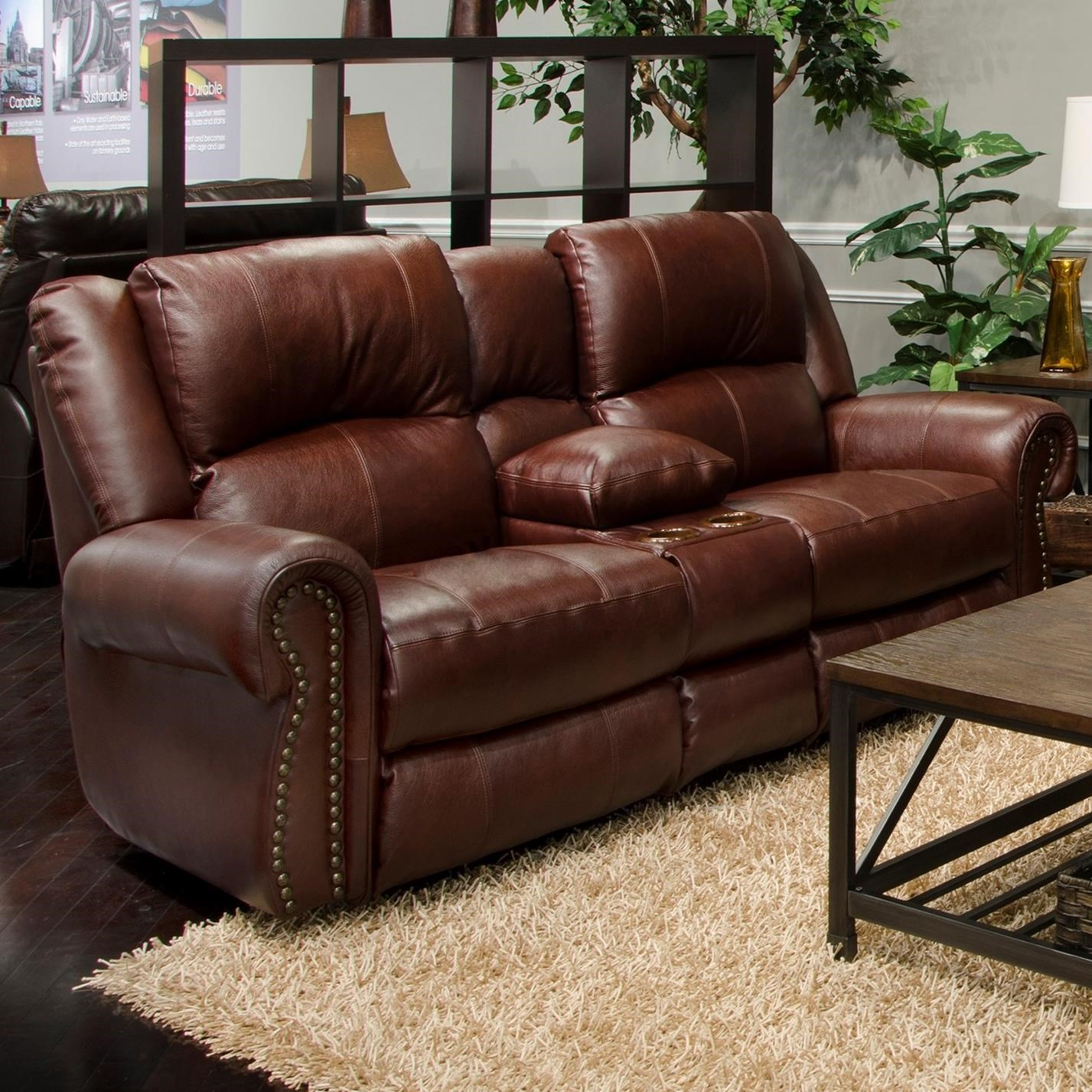 catnapper sofa and loveseat leather chaise lounge messina traditional power reclining lay flat