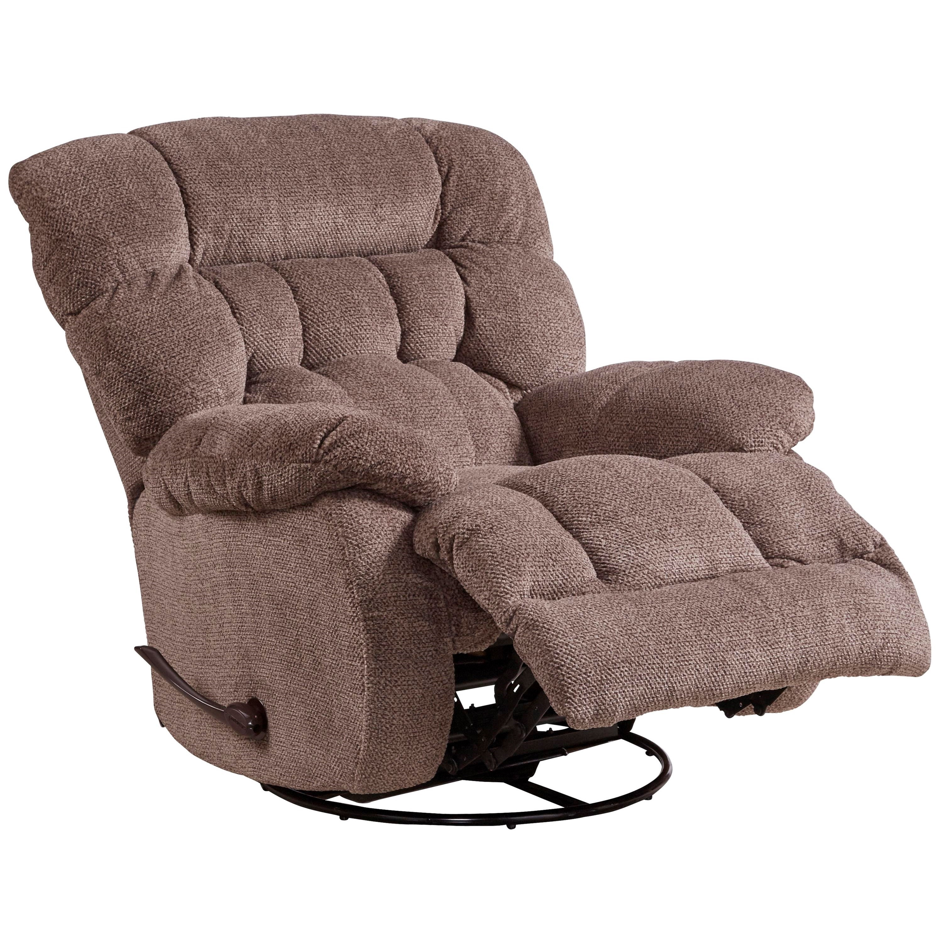 glider recliner chair tree trunk table and chairs catnapper motion recliners daly swivel