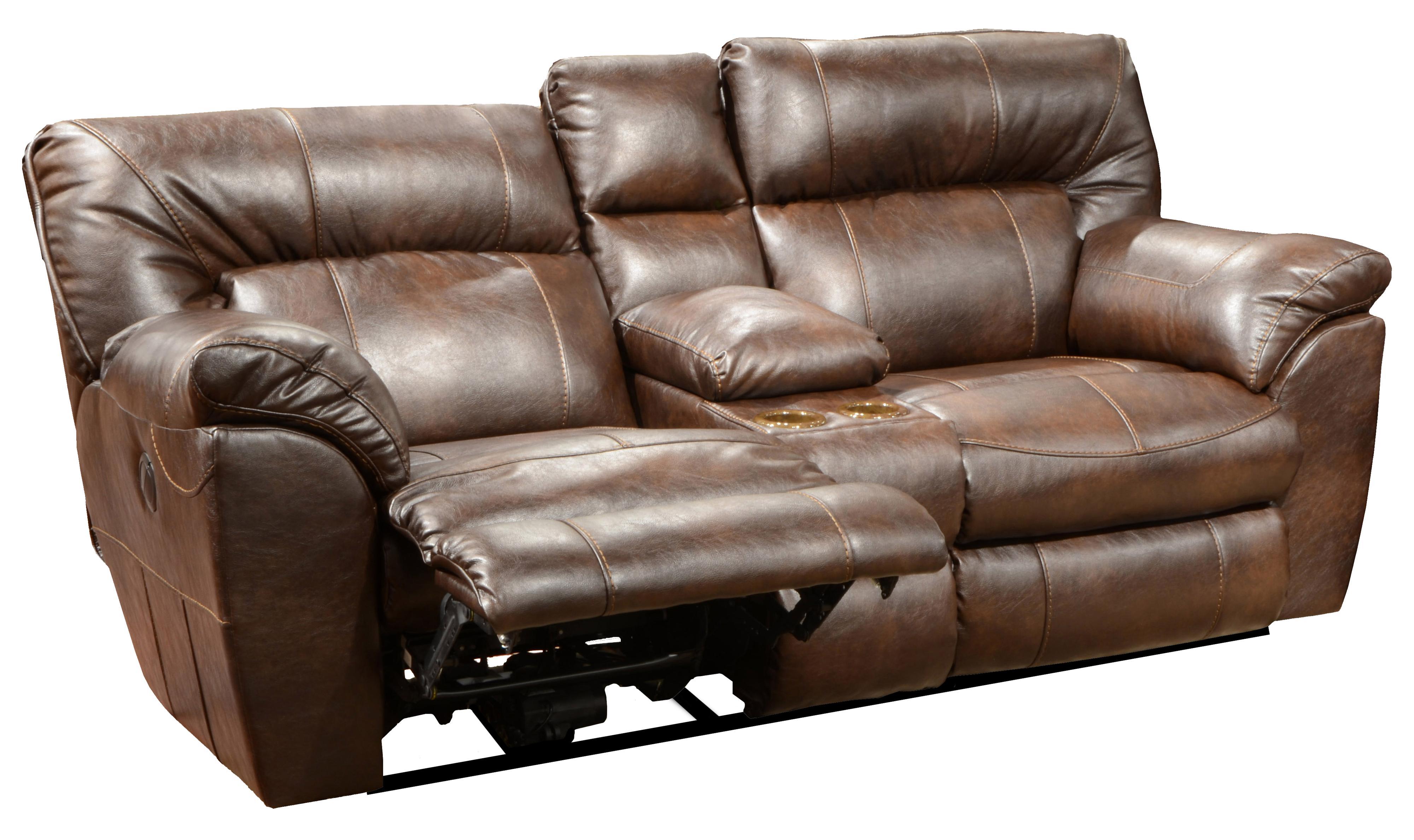 catnapper sofas and loveseats fundas para sofa chaise longue baratas nolan power extra wide reclining console