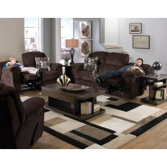 Catnapper Sofas And Loveseats Cream Coloured Transformer Ultimate Sofa With 3 Recliners