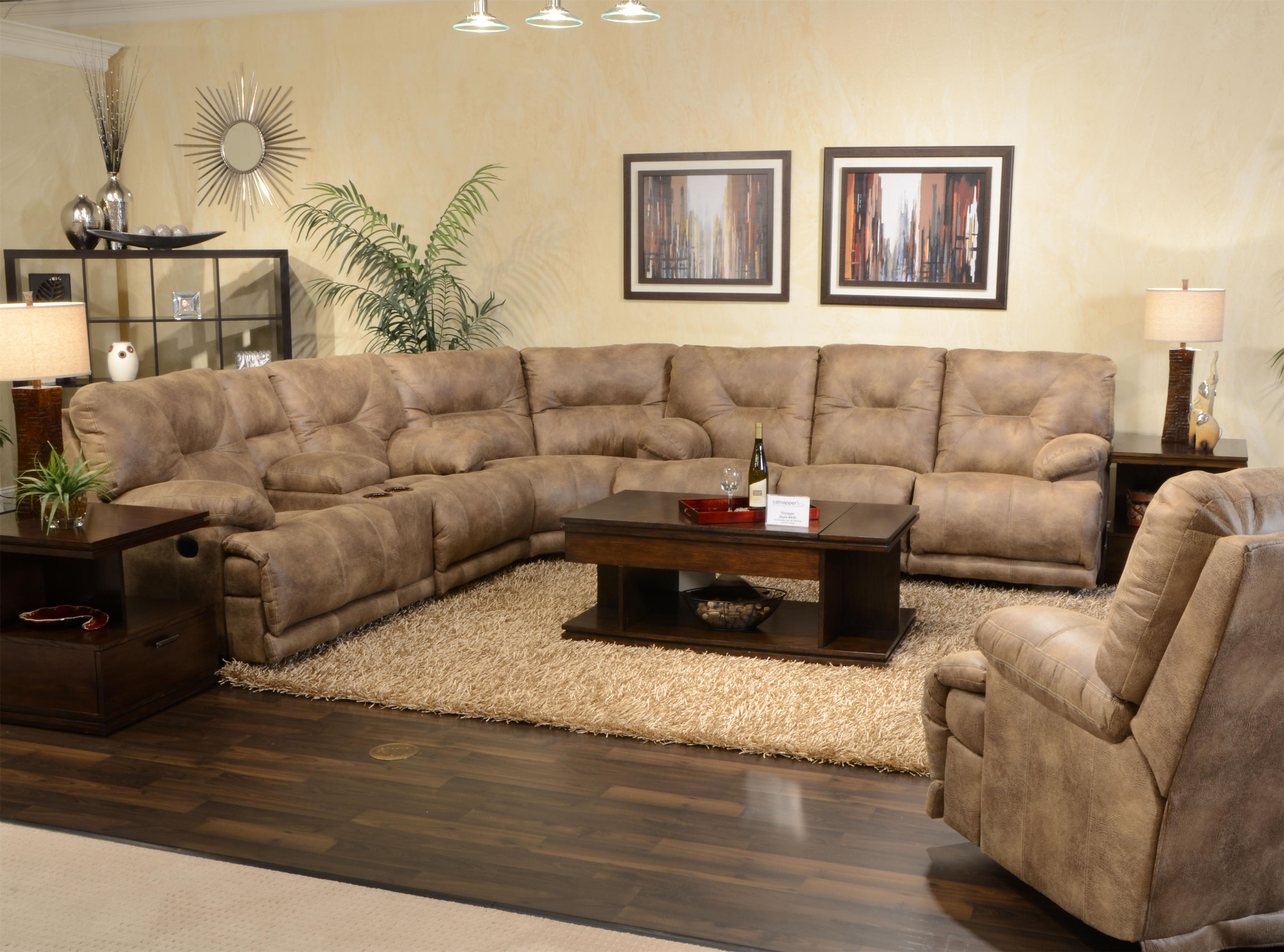 southwestern sofas grey leather sofa with nailheads catnapper voyager power 6 seat quotlay flat quot reclining