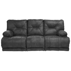Two Cushion Power Reclining Sofa Bed Table Combo Catnapper Voyager 3 Seat Quotlay Flat Quot