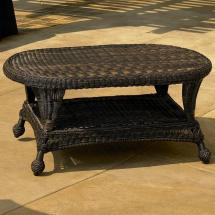 Northcape International Charleston Wicker Coffee Table