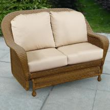 Glider Loveseat Outdoor Replacement Cushions