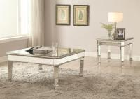 Coaster 70393 Mirrored Coffee Table | Dream Home Furniture ...