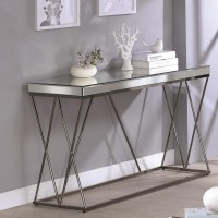 Coaster 70547 705479 Mirrored Sofa Table