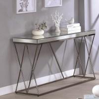 Coaster 70547 705479 Mirrored Sofa Table