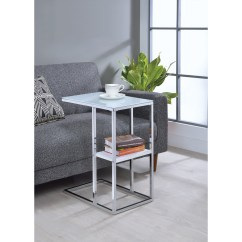 Kirton Chair Accessories Cb2 Phoenix Ivory Coaster Accent Tables Contemporary Snack Table With Glass