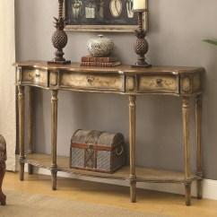 Coaster Fine Furniture Cappuccino Rectangular Console And Sofa Table Phoebe Super Amart 720749 In Chrome
