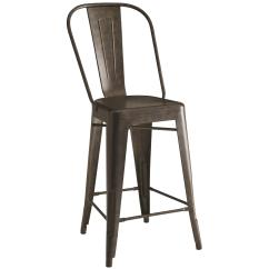 Table Height High Chair Revolving Manufacturing Process Coaster Bar Units And Tables 104886 Lahner Metal