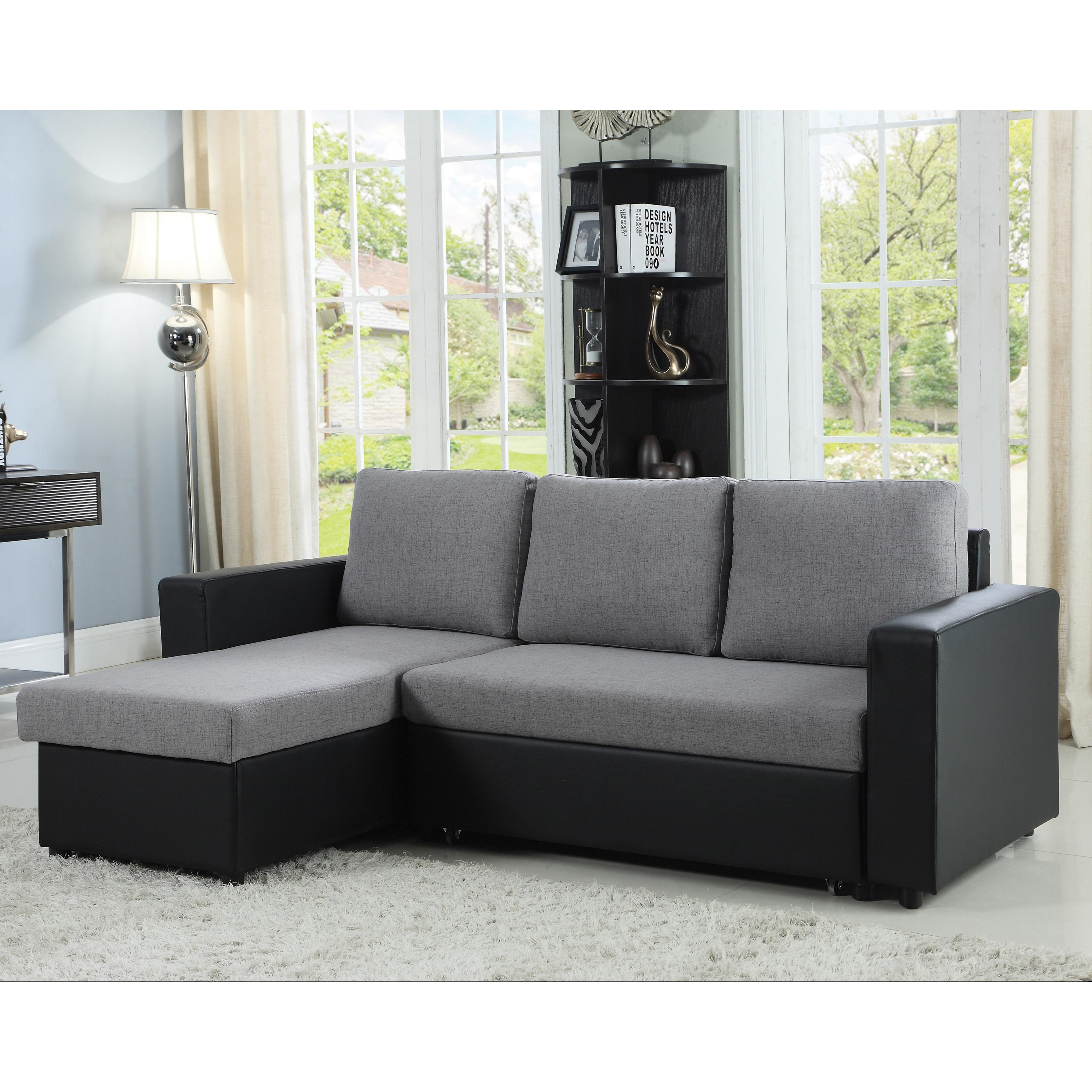 fufsack sofa sleeper lounge chair room board review coaster baylor 503929 sectional with chaise and