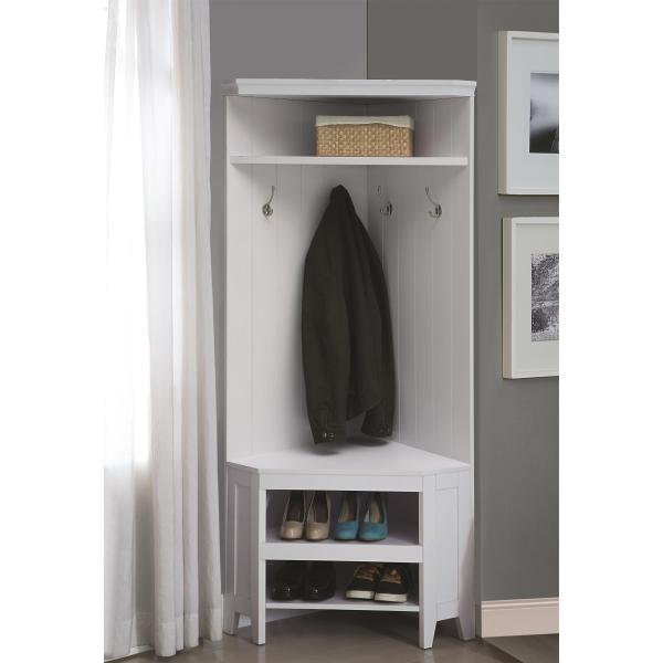Hall Trees and Coat Racks With Shoe Storage
