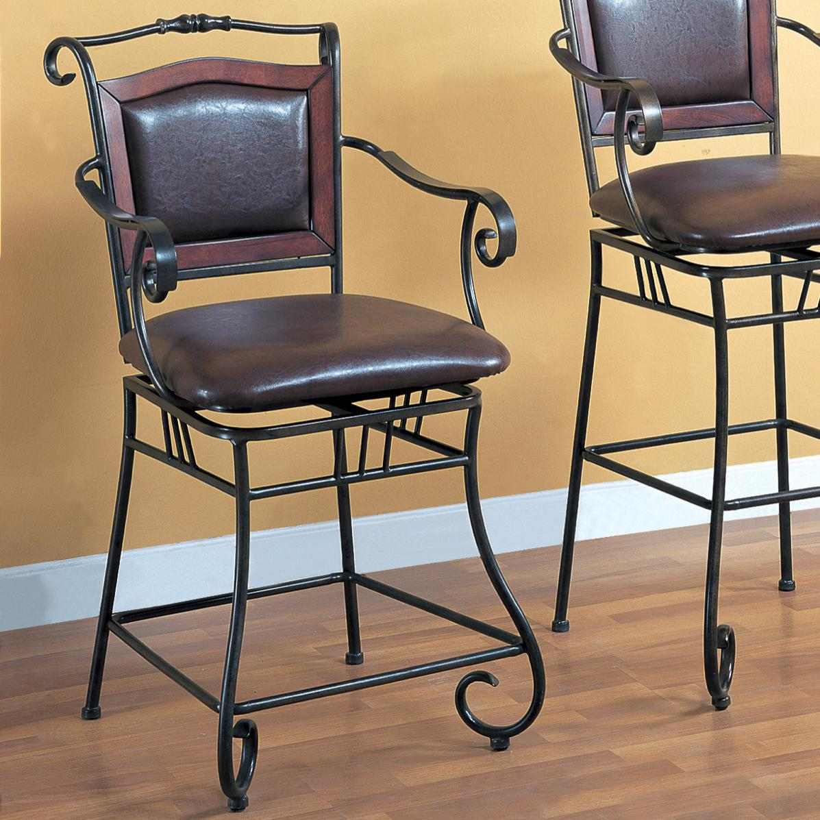 24 dining chairs hanging chair under loft bed coaster and bar stools 100160 quot metal