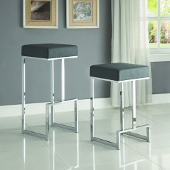 Chair And Stool Heights Swivel In Tagalog Coaster Dining Chairs Bar Stools Contemporary Counter
