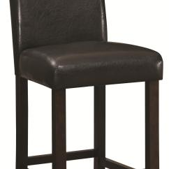 Chair And Stool Heights Rocking With Ottoman India Coaster Dining Chairs Bar Stools 130059 24 Quot Counter