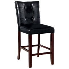 Upholstered Counter Height Chairs Rustic Accent Coaster Ducey 103539 Stool With